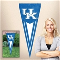 "Kentucky Wildcats NCAA 34"" x 14"" Embroidered 1-Sided Yard & Wall Pennant Flag *CLOSEOUT*"