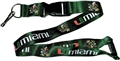 Miami Hurricanes NCAA Green Lanyard