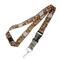 North Carolina Tar Heels NCAA Brown Camo Lanyard *SALE*
