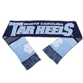 "North Carolina Tar Heels Reversible Split Logo NCAA 60"" Team Knit Scarf"