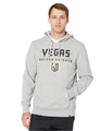 Vegas Golden Knights NHL Slate Grey Pregame Headline Mens Hoodie *NEW* Size 2XL