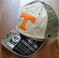 Tennessee Volunteers OHT NCAA Camo Clean Up Adjustable Hat *NEW*