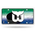 Hartford Whalers NHL Vintage Embossed Metal License Plate *SALE*