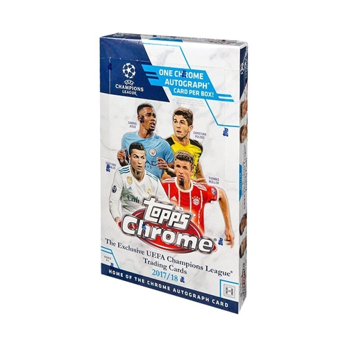 2018 Topps Chrome Champions League Soccer Hobby Box *SALE*