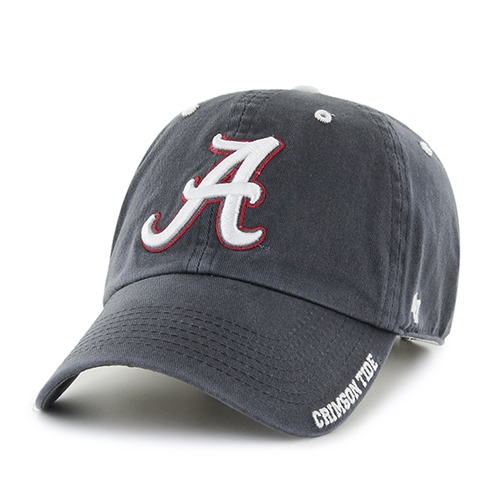 Alabama Crimson Tide NCAA Charcoal Ice Clean Up Adjustable Hat *NEW*