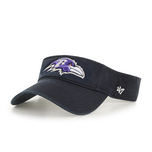 Baltimore Ravens NFL Black Clean Up Adjustable Visor *SALE*