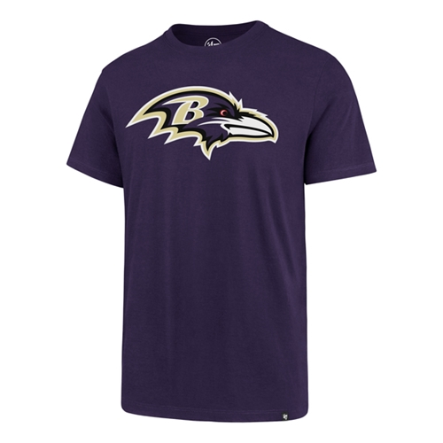 Baltimore Ravens NFL Purple Super Rival Mens Tee Shirt *NEW LAST ONE* Size S