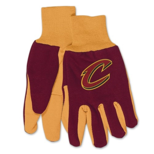 Cleveland Cavaliers NBA Two Tone Sport Utility Work Gloves