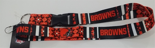 Cleveland Browns NFL Ugly Sweater Lanyard *SALE*
