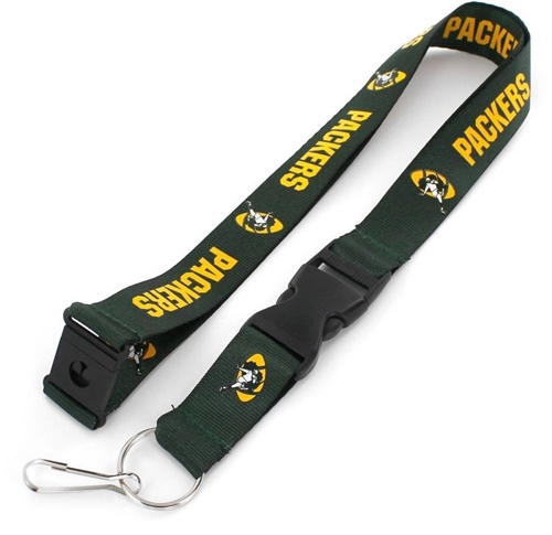 Green Bay Packers NFL Throwback Lanyard