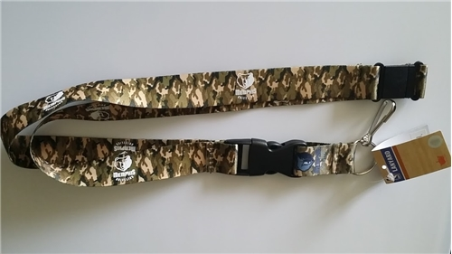 Memphis Grizzlies NBA Brown Camo Lanyard *SALE*