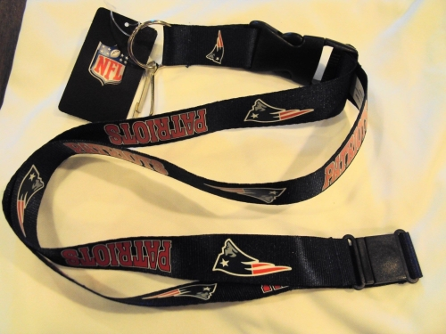 New England Patriots NFL Blue Lanyard