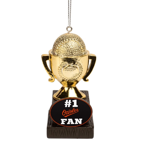 Baltimore Orioles MLB #1 Fan Trophy Ornament *CLOSEOUT*