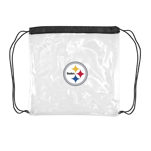 Pittsburgh Steelers NFL Clear String Stadium Approved Bag
