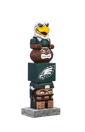 "Philadelphia Eagles NFL 15.5"" Tiki Totem *SALE*"