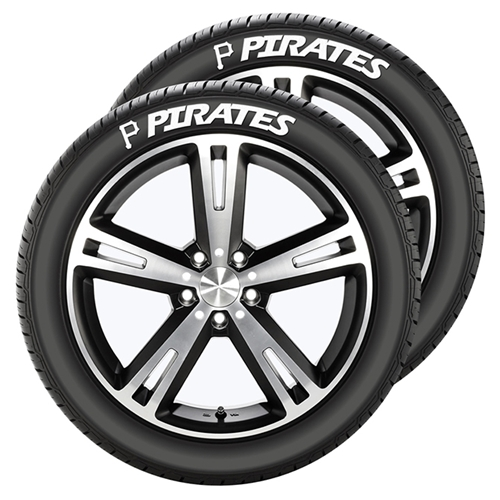 Pittsburgh Pirates MLB Tire Tatz Decals Set of 2 *CLOSEOUT*