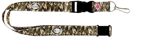 Cincinnati Reds MLB Brown Camo Lanyard *SALE*