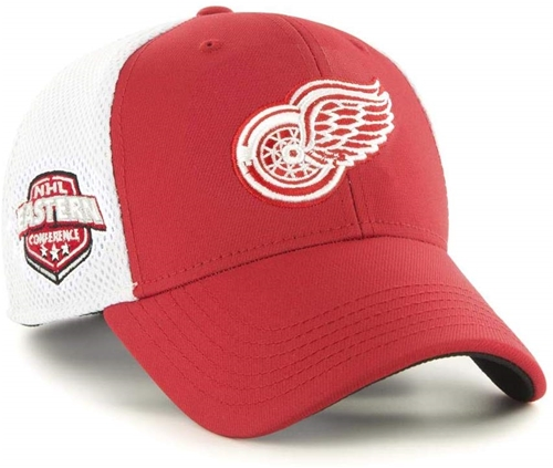 Detroit Red Wings NHL Red Back Pedal Contender Stretch Fit Hat *SALE*