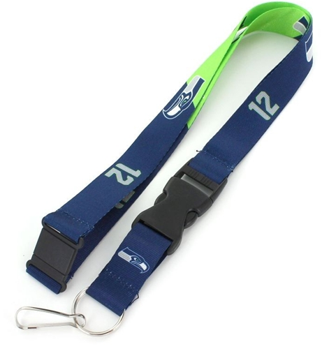 Seattle Seahawks NFL Slogan Lanyard
