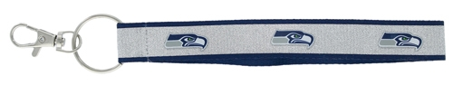 Seattle Seahawks NFL Sparkle Wristlet Key Ring *CLOSEOUT*