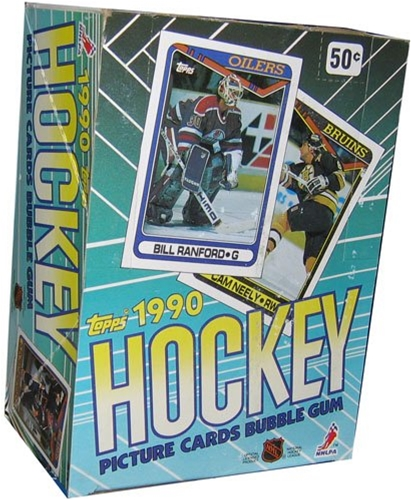 1990-91 NHL Topps Hockey Cards Series I - 36 Pack Box *SALE*